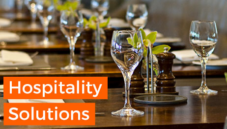 View our Hospitality Solutions